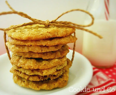 Mandel-Hafercookies – extra crunchy!