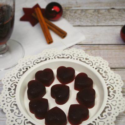 Punsch-Herzen – vegane Gummibonbons ohne Gelatine