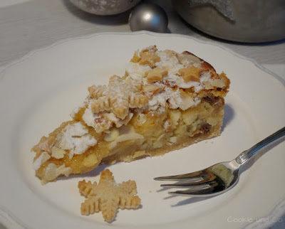 Weihnachtliche Bratapfel-Tarte