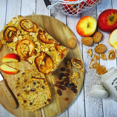 Apfelbrot – saftig & schnell