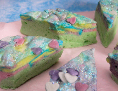 Homemade Marshmallows – Unicorn Style