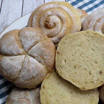Buttermilch-Brötchen (vegan möglich)