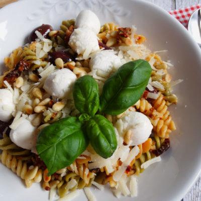 Pasta al Pesto Rosso: Schnelles Pastaglück