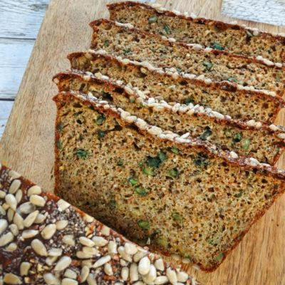 Low Carb-Eiweiß-Brot (glutenfrei)
