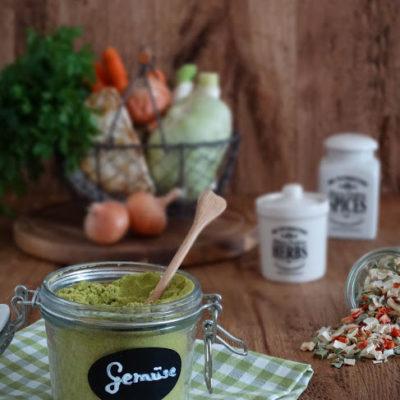 Gemüsebrühe:Instant-Gemüsebrühe selbstgemacht