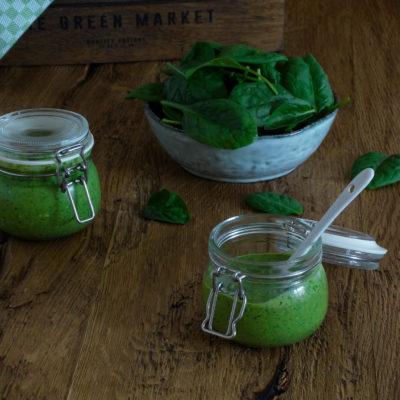 Spinat-Feta-Pesto: schnell und lecker