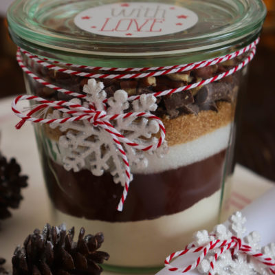 Backmischung für Brownies: Eine Geschenkidee für Schoko-Fans