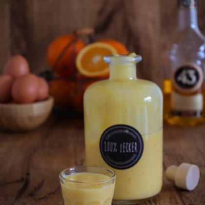 Orangen-Vanille-Eierlikör mit Licor 43