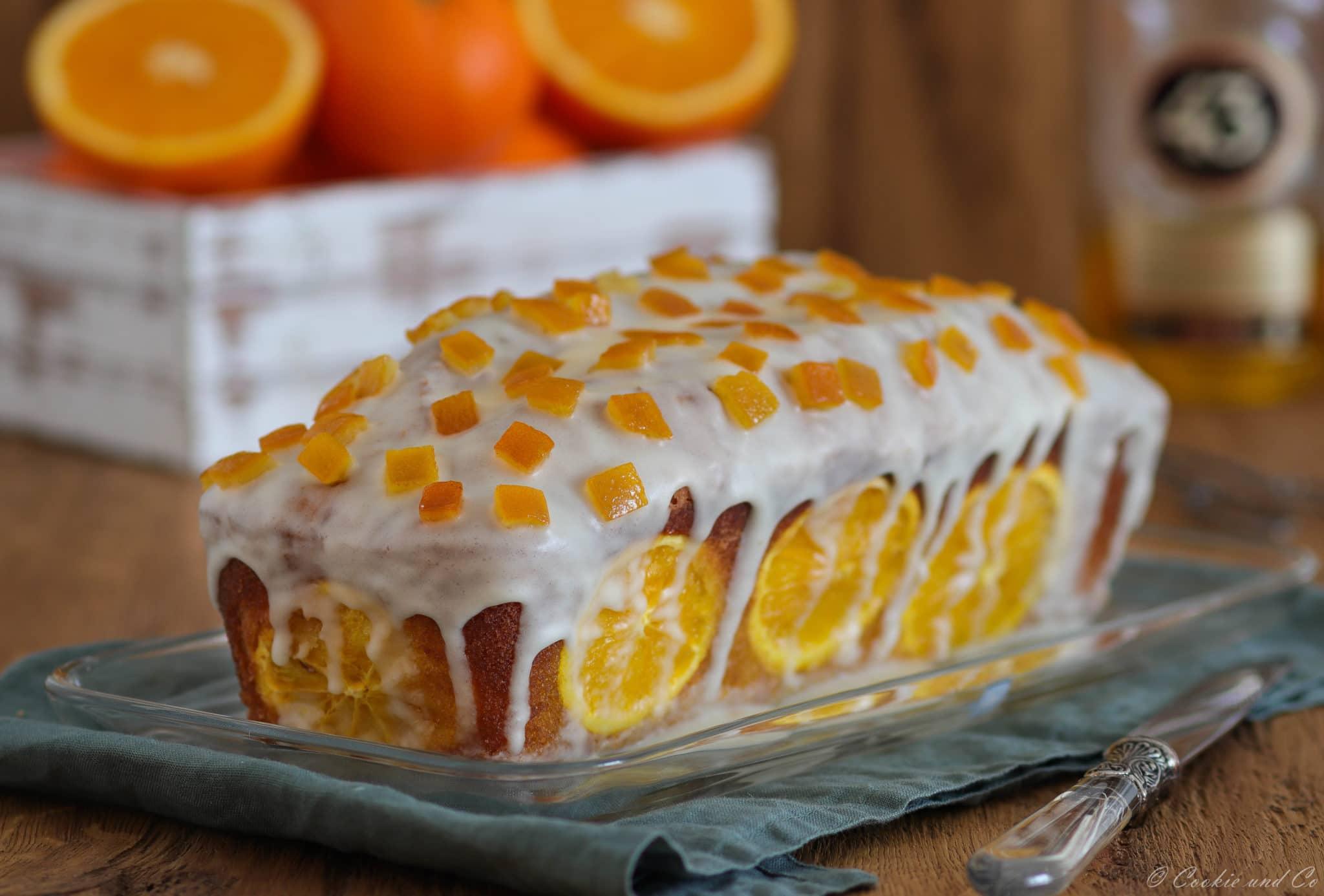 Orangen-Vanille-Kuchen