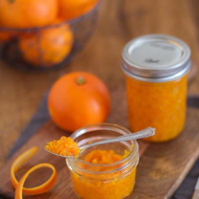 Orangenaroma (Orangenschale auf Vorrat)