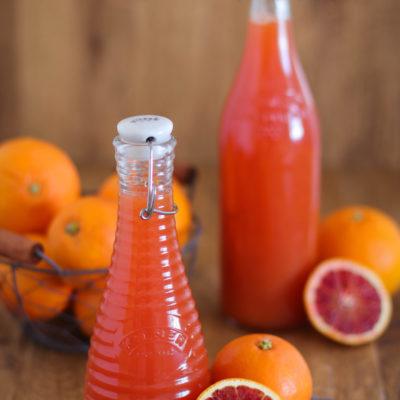 Orangensirup – selbstgemacht (Grundrezept)