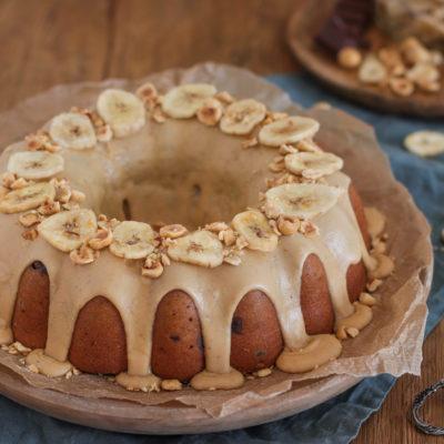 Banoffee Cake (Bananen-Verwertung)