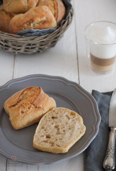 Frühstücksbrötchen mit Joghurt