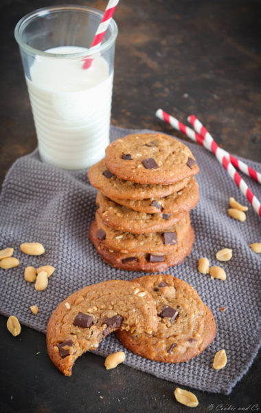 Peanutbutter Chocolatechip Cookies