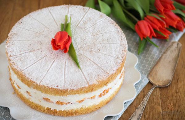 Käse-Sahne-Torte