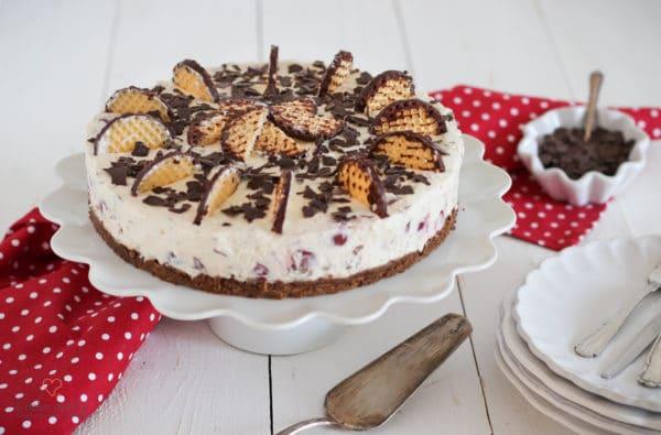 Kirsch-Schokokuss-Torte