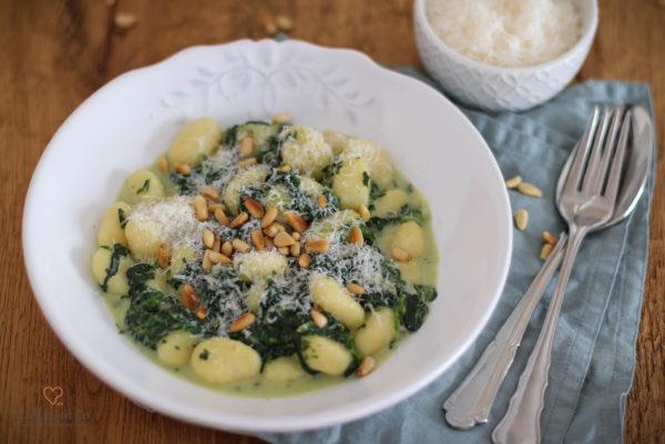 Spinat-Gorgonzola-Soße