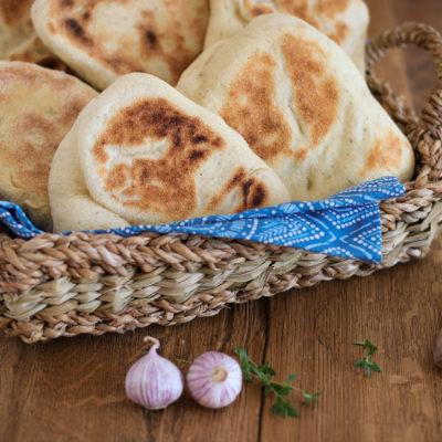 Grill- und Pfannenbrot / Panini-Brot