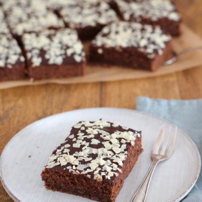 Zucchini-Kuchen: schokoladig & saftig