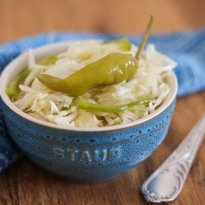 Weißkrautsalat (griechischer Art)