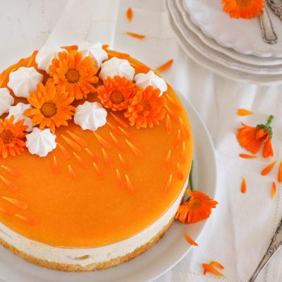 Pfirsich-Maracuja-Torte: fruchtig & frisch