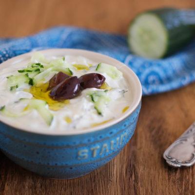 Tzaziki: griechischer Joghurt-Dip