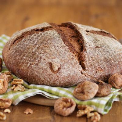 Feigen-Walnuss-Brot (Pain aux figues et noix)