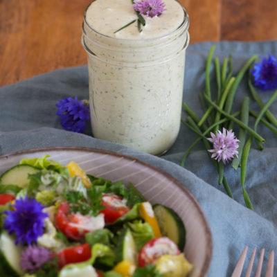 Joghurt-Dressing (Grundrezept für Salatsoße)