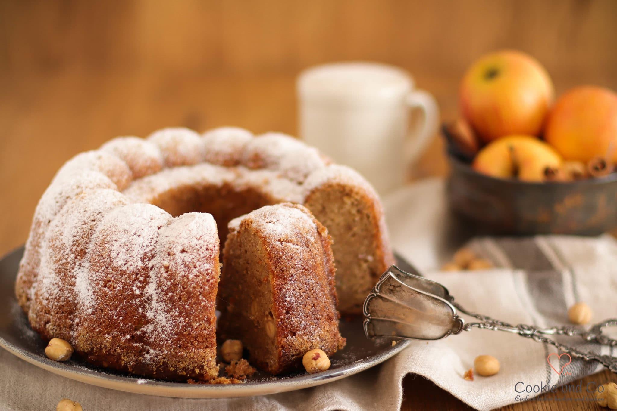 Apfel-Dinkel-Kuchen (Familienrezept)  Cookie und Co