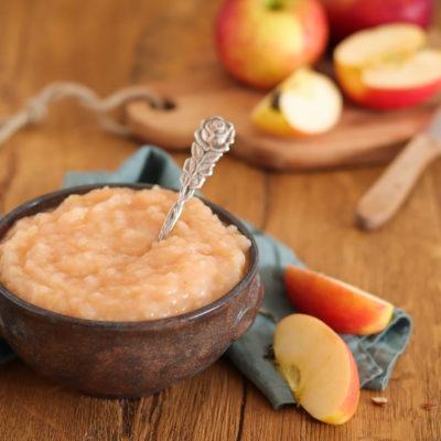 Apfelmus ohne Zucker (Apfelmark) – Grundrezept