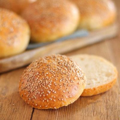 Burger Buns (Hamburger Brötchen)