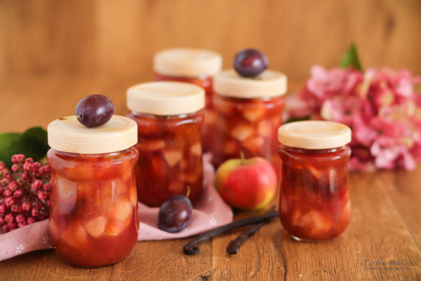 Zwetschgen-Apfel-Konfitüre