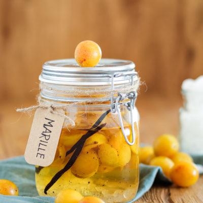 Grundrezept für Fruchtlikör |Mirabellenlikör mit Vanille