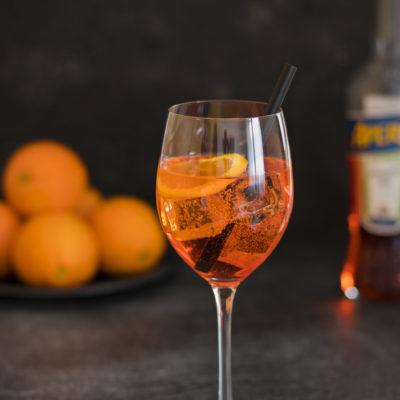 Aperol-Orangen-Gelee