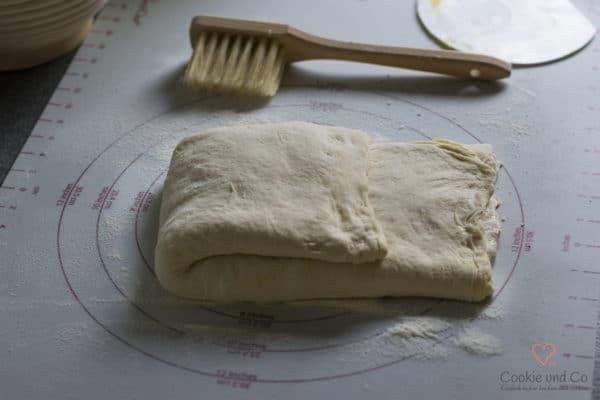 Teig für ein mediterranes No Knead Bread