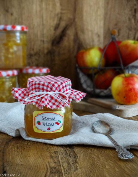 Beschwipste Apfelkonfitüre