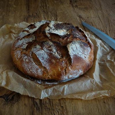 No knead Bread (mit Hefewasser)