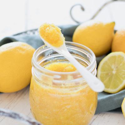 Zitronenaroma – Zitronenschale auf Vorrat