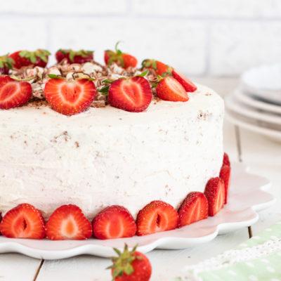 Erdbeertorte mit Yogurette® | Sommertorte