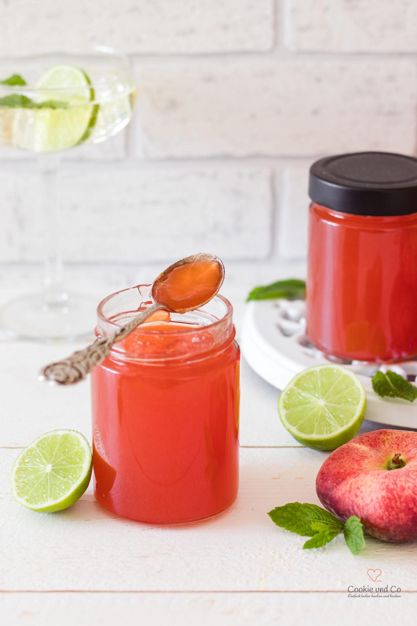 pfirsiche kühlschrank