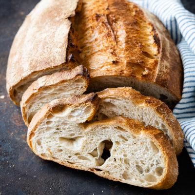 Pain Paysans - französisches Weizenbrot mit alten Getreidesorten