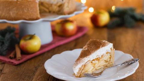 Apfel-Glögg-Torte (mit Glögg Rezept)