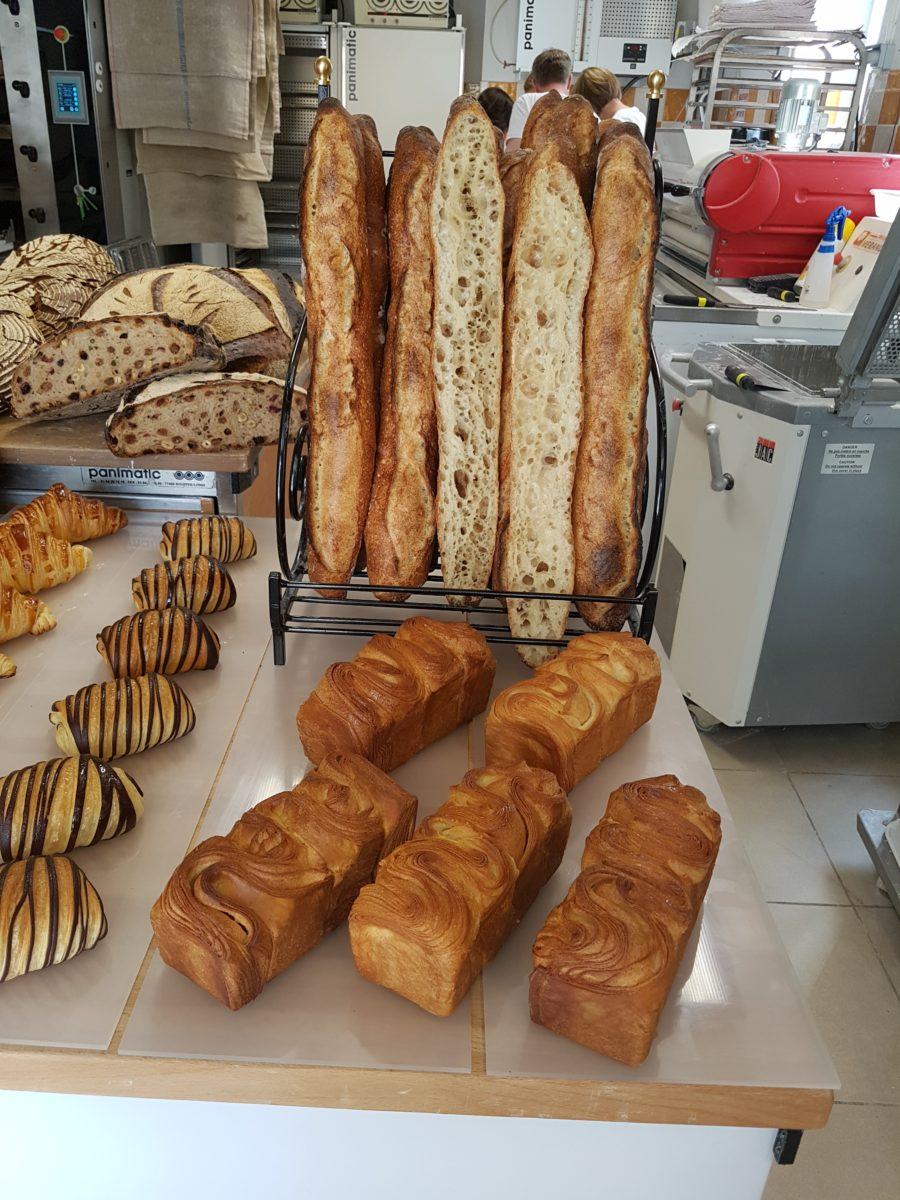 Traditionelle französisches Baguette