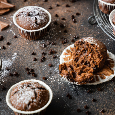 Schokomuffins | saftige Schokoladenmuffins