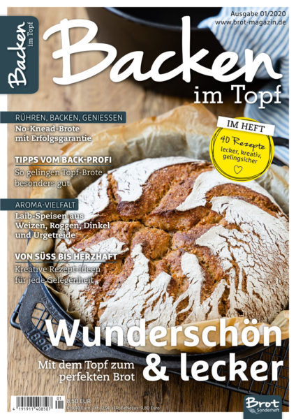 Topfbrot: Brot Backen im Topf. 40 Rezepte