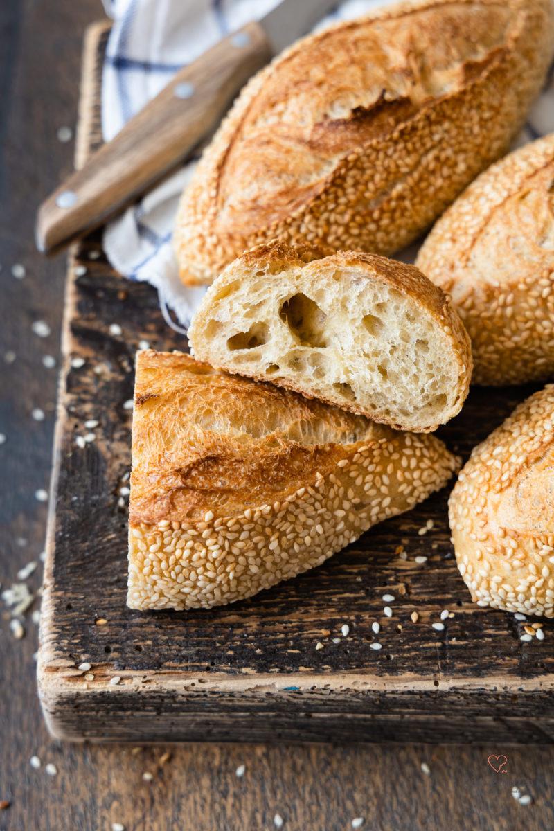 Goldies – Frühstücksbrötchen mit Übernachtgare