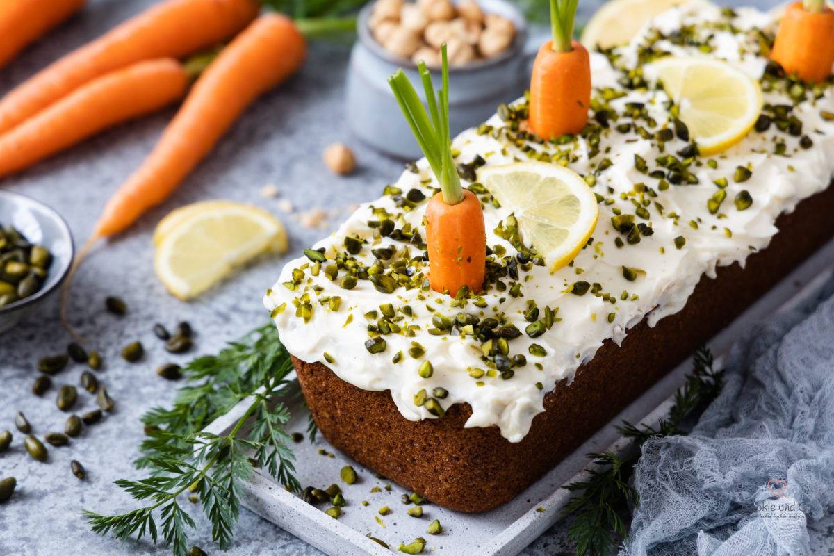 Rüblikuchen - Carrot Cake