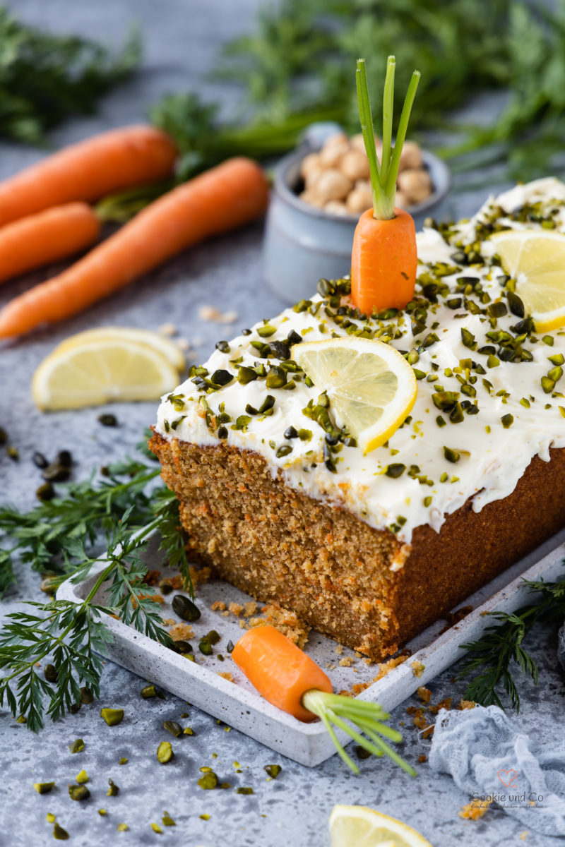 Carrotcake mit Cream Cheese Frosting