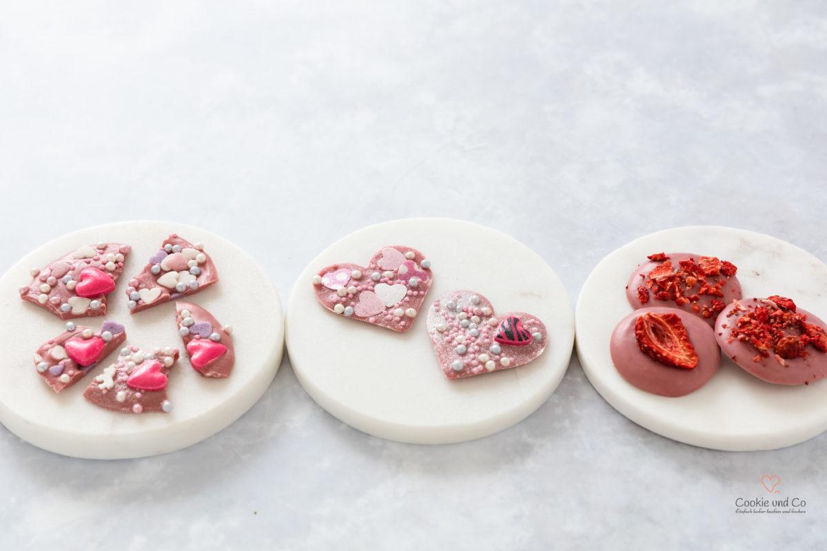 Ruby Chocolate Bites (Geschenkidee) Callebaut