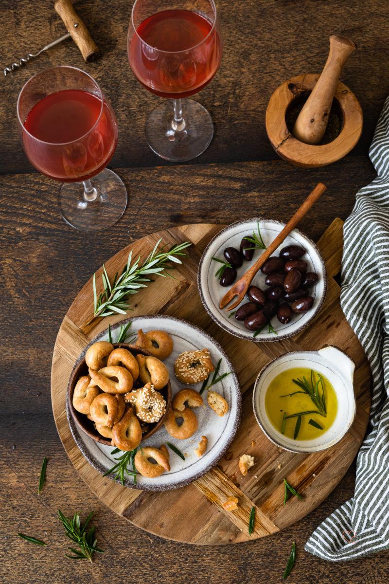 Taralli pugliesi (original apulisches Familienrezept und eine Version mit Lievito Madre)